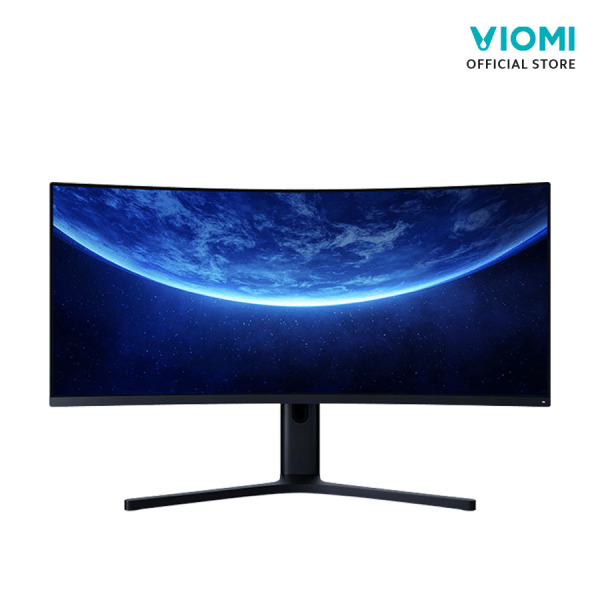 Xiaomi Mi Curved Display Gaming Monitor 34-Inch 21:9 Big Screen 144Hz High Refresh Rate 1500R Curvature WQHD 3440*1440 Resolution 121% sRGB Wide Color Gamut Free-Sync Technology Display