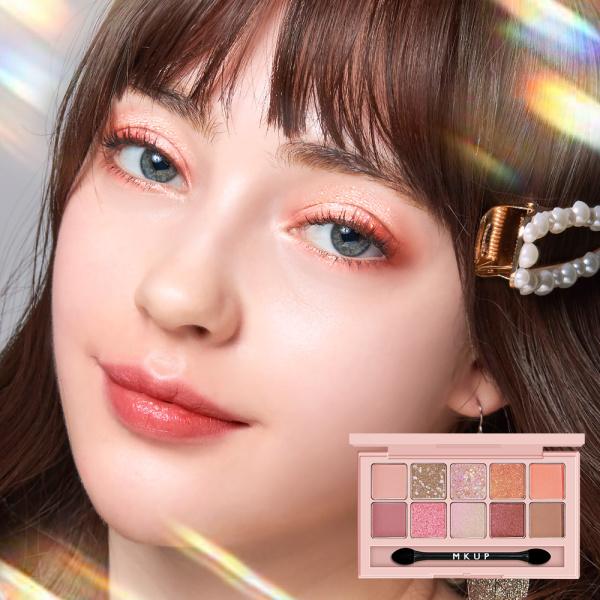 Buy MKUP Diamond Rain Eye Shadow Palette-Dazzling Pink Elves Singapore