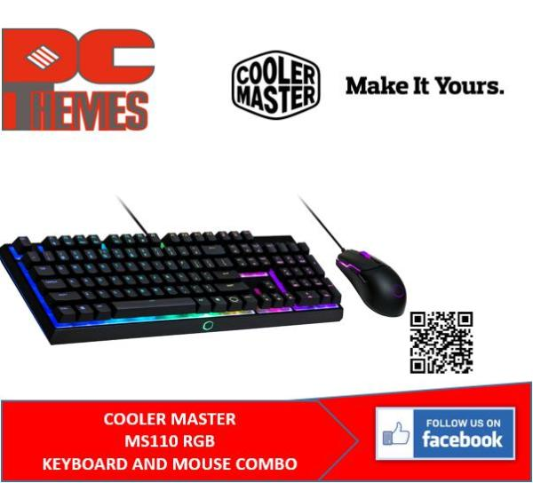 COOLER MASTER MS110 RGB HYBRID MEM-CHANICAL GAMING KEYBOARD & MOUSE COMBO Singapore