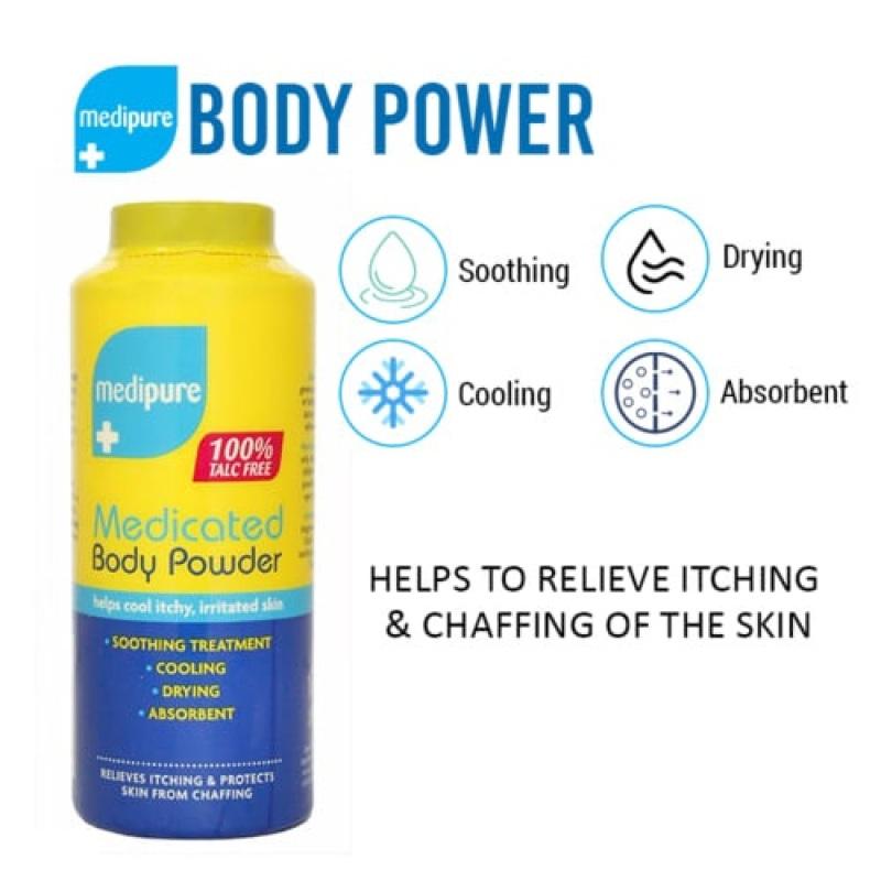 Buy Medipure Medicated Body Powder 200g (100% Talc Free) Singapore