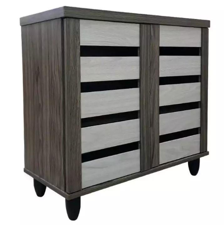 [Furniture Amart] WOODEN 2 DOOR SHOE CABINET