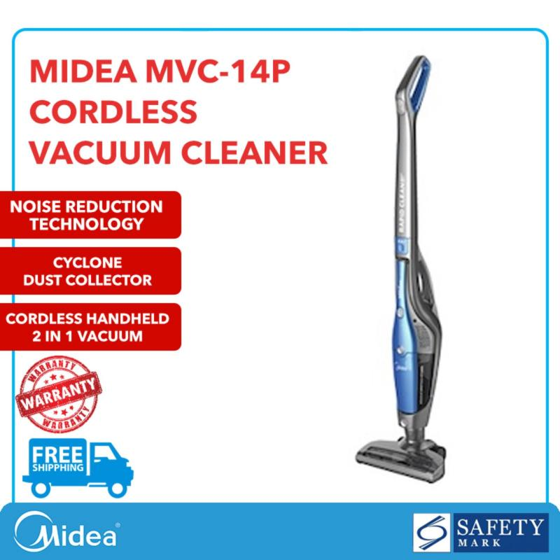Midea  Cordless Handheld Vacuum Cleaner (Li-ion 2200mA) MVC-14P Local Official 2 Years Warranty ★FREE SHIPPING★ Singapore
