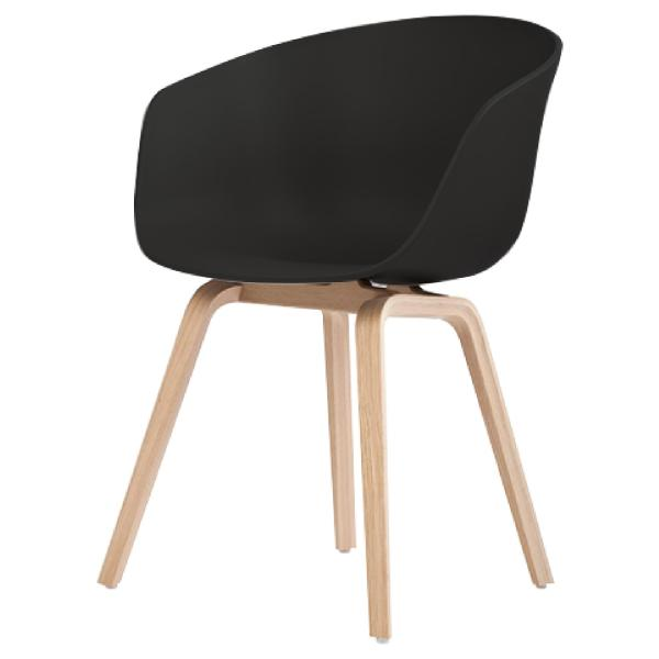 JIJI GONGA Designer Armchair (Free Installation) - Dining Chair / Stackable / Living Room / Outdoor / Restaurant / Study Room / Space Saving / Prevent Flooring Scratches (SG)