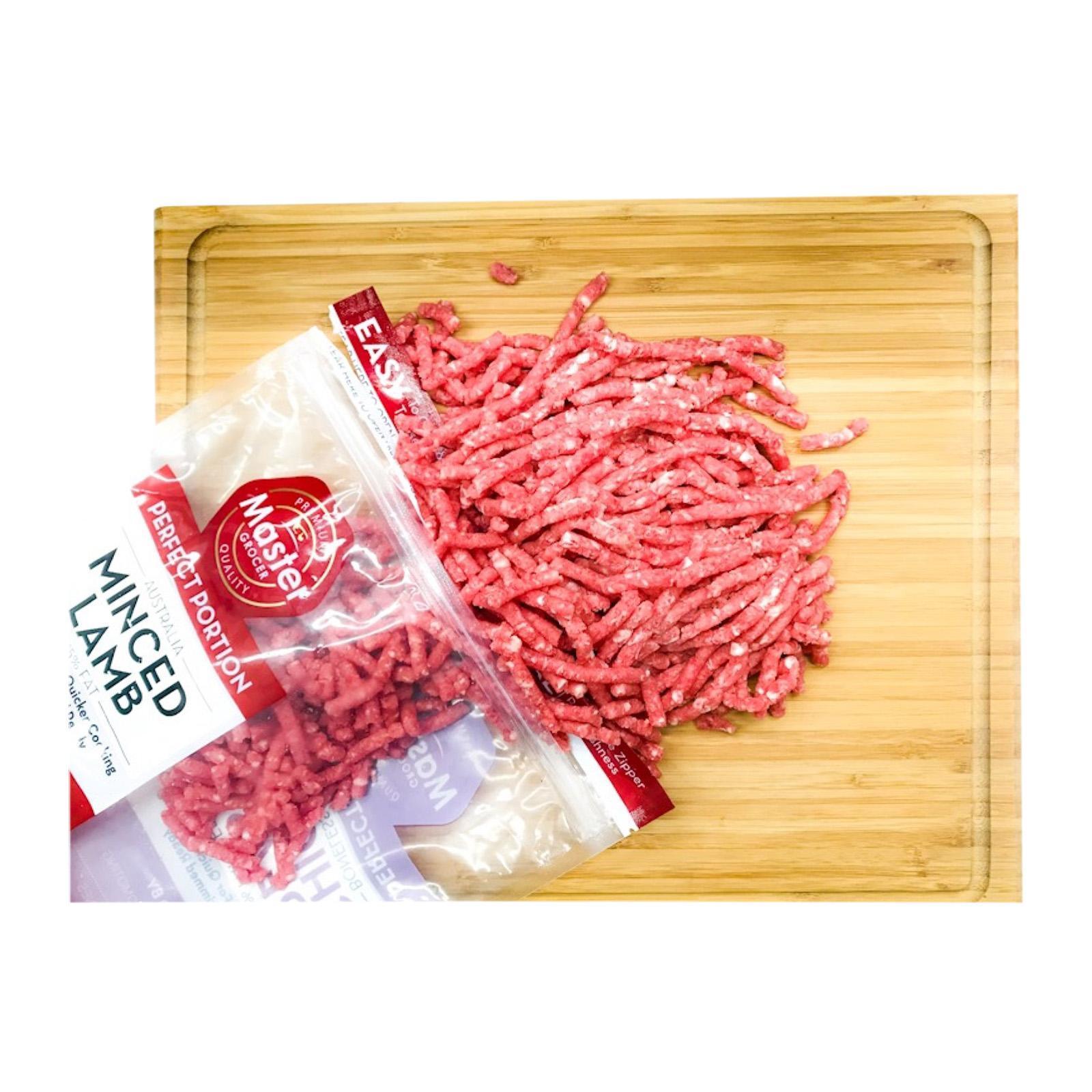 Master Grocer Australia Grassfed Lamb Minced - Frozen