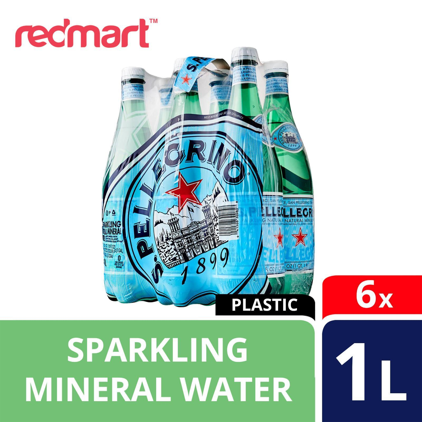 San Pellegrino Sparkling Natural Mineral Water - Case