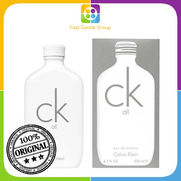 Buy [100% Authentic] Calvin Klein CK ALL EDT Unisex 200ml Singapore