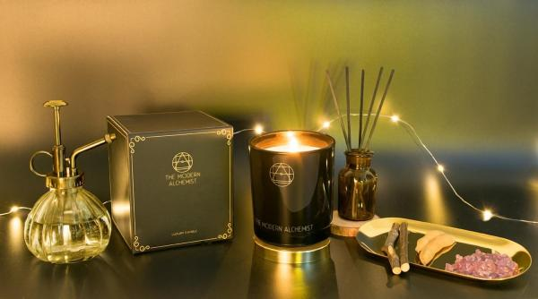 The Modern Alchemist - Champagne - Premium Soy Wax Candle