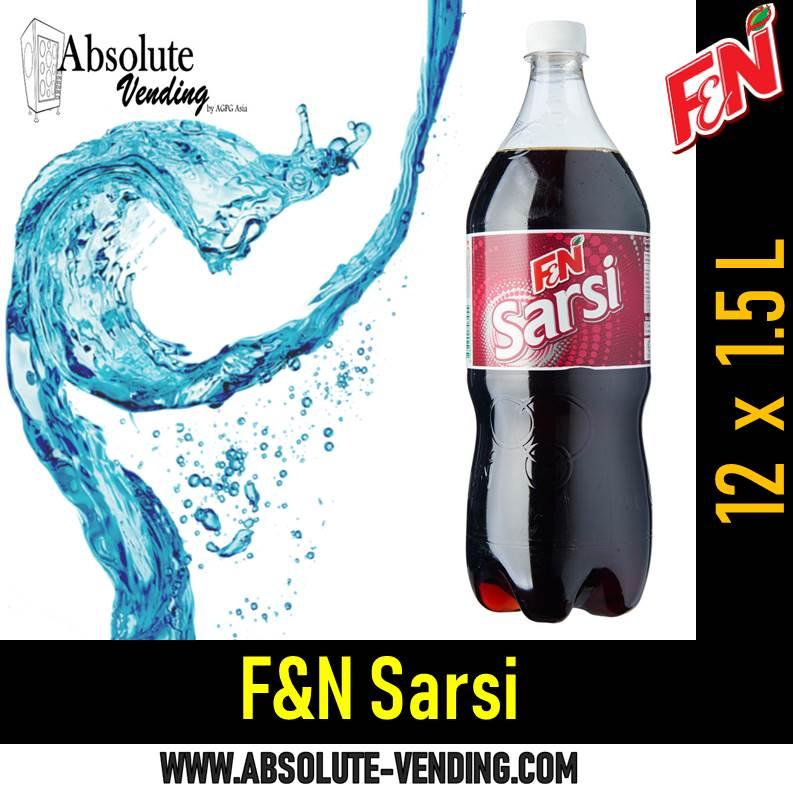 F&n Sarsi (1.5l Bottle) By Absolutevending-Drinkrus.