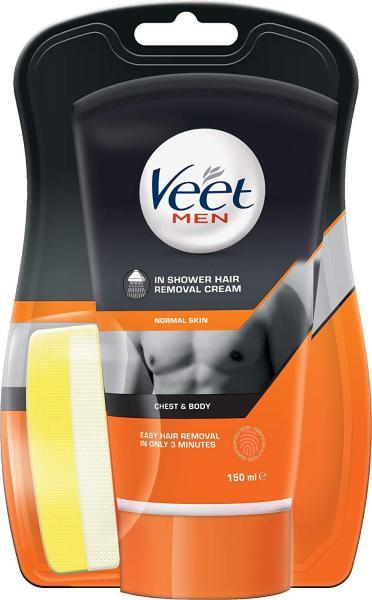 Buy Veet Men in Shower Hair Removal Cream, 150 ml Singapore