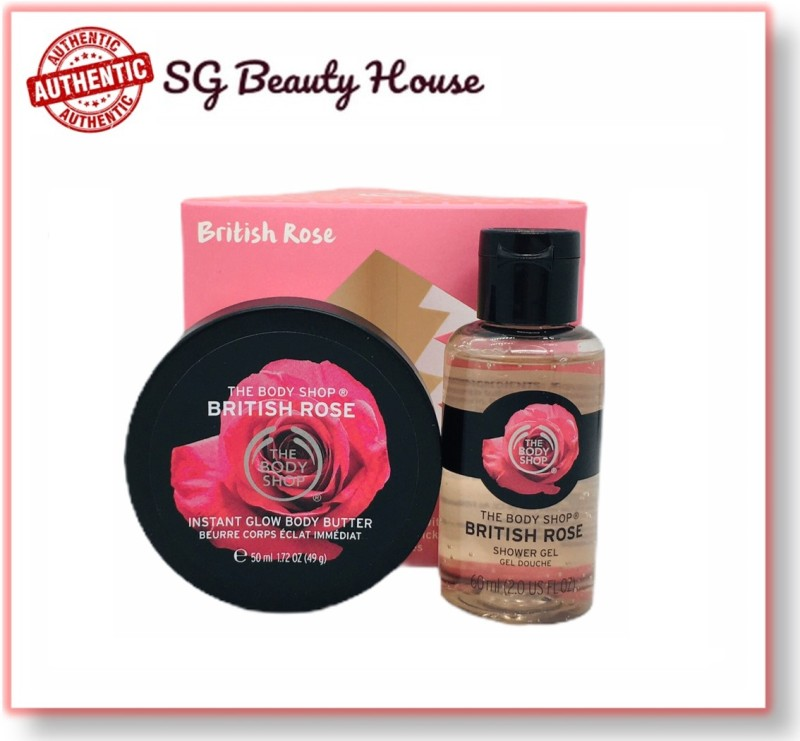 Buy THE BODY SHOP BRITISH ROSE 2PCS SET BOX Singapore