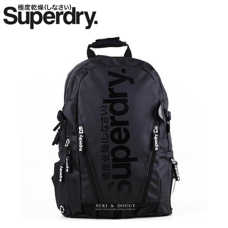 SUPERDRY BACKPACK  100% Authentic Waterproof Heavy Duty Multi-function  21L be729f8b6f5b3