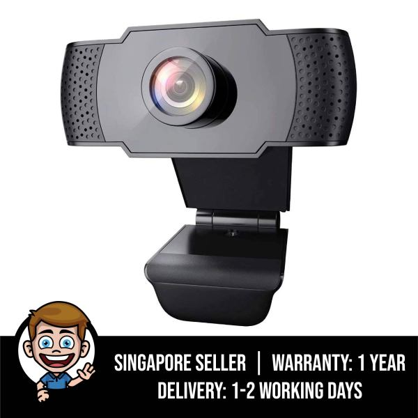 Webcam with Microphone, 1080P HD Streaming USB Computer Webcam [Plug and Play] [30fps] For PC Video Conferencing / Calling / Gaming, Laptop / Desktop / Mac, Skype / YouTube / Zoom