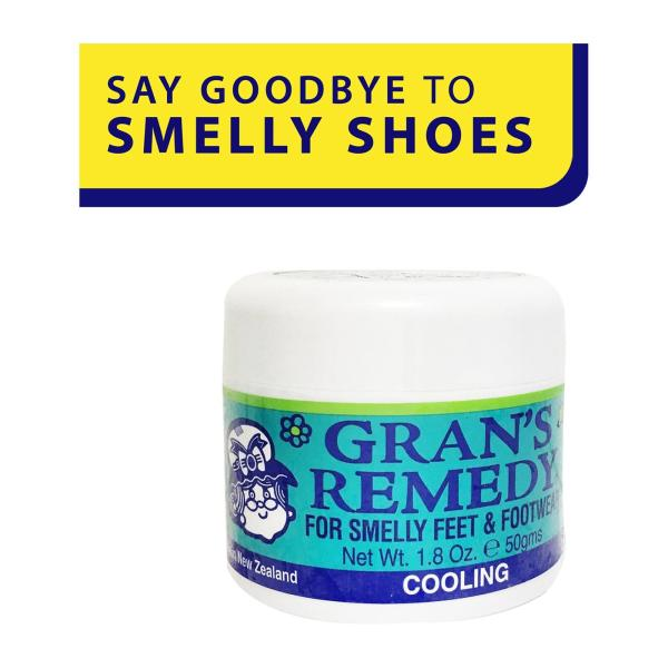 Buy Grans Remedy For Smelly Feet and Footwear Shoe Powder Cooling - by Optimo Foods Singapore