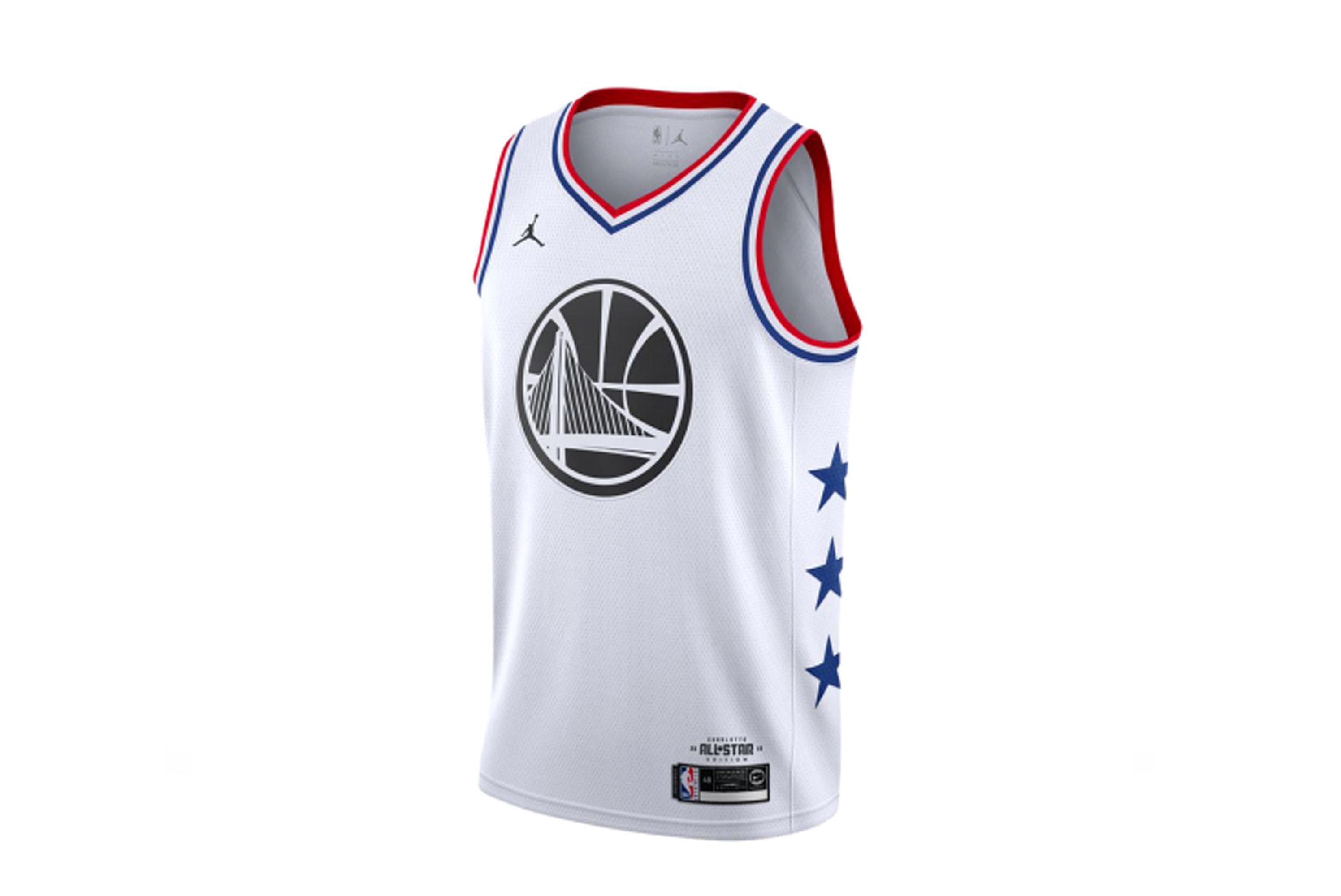 0a4dd377ead Nike Stephen Curry All- Star Edition Swingman Jersey AQ7297-101 Golden  State Warriors Mens