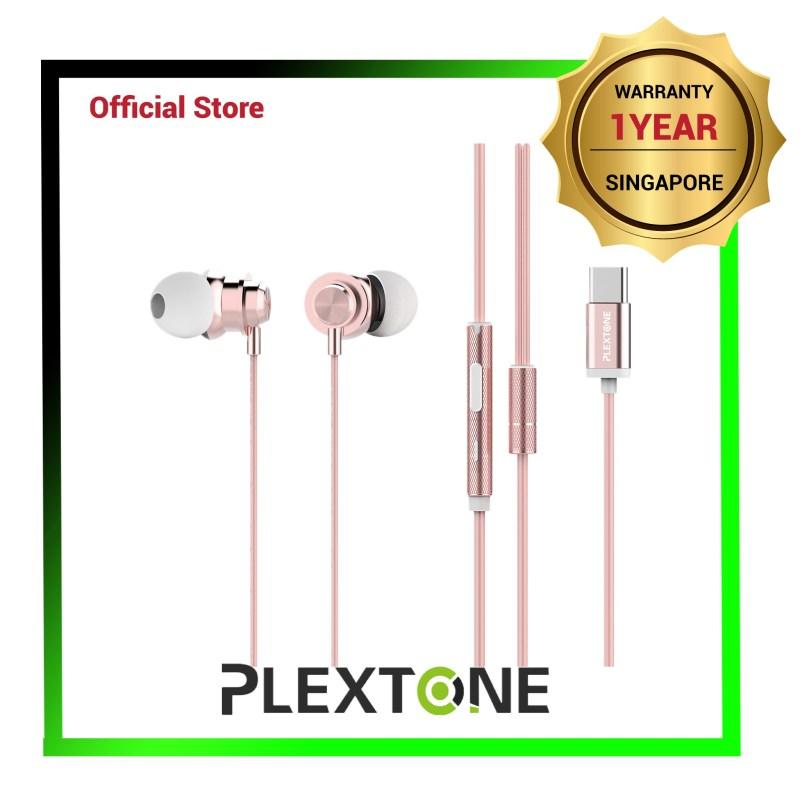 PLEXTONE X56M Noise Reduction IPX4 Waterproof Headsets (USB Type C Interface) - 1 Yr Local Warranty Singapore