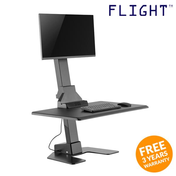 Height Adjustable Desk - Office Furniture - Workstation - Study Table - Work Table - Home Office - Ergonomic Table - ST-04 - Flight