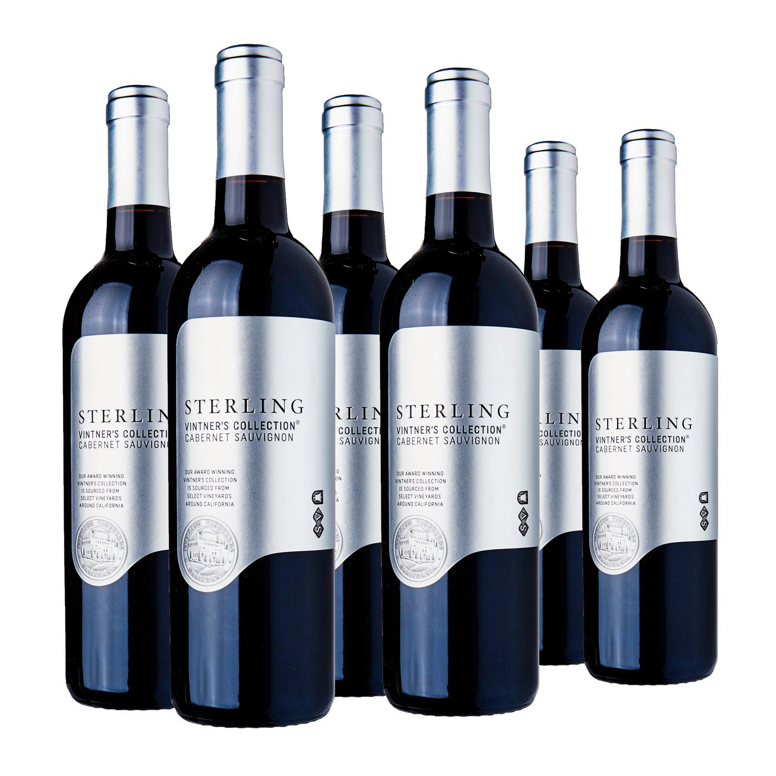 Sterling Vintner's Collection Cabernet Sauvignon - Case - By Wine Collection