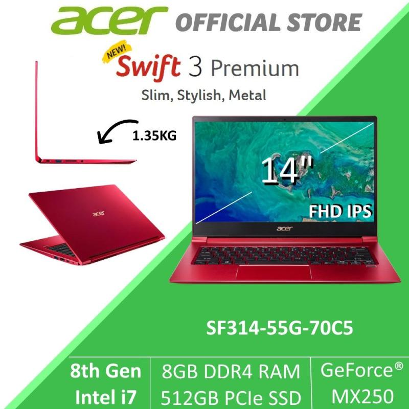 Acer Swift 3 Premium SF314-55G-70C5 Thin and Light Laptop with NVIDIA® GeForce® MX250