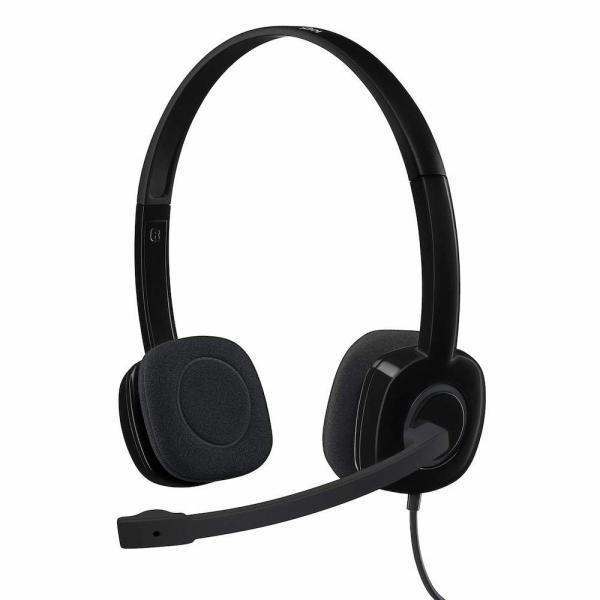 Logitech H151 Stereo Headphones with 3.5mm Jack and  Noise-Cancelling Mic /Gadgets& IT Singapore