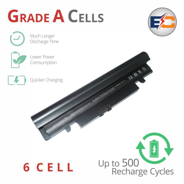 Replacement Laptop Grade A Cells Battery N150-T-3S2P Compatible with Samsung N150 NP, N148, N148-DA01, N148-DA02, N148-DA03, N148-DA04, NP-N148-DA01IN, N150-22BL, NP-N150-HAV1US, NP-N150-JA01US, NP-N150-JA02AT, NP-N150-JA02ES