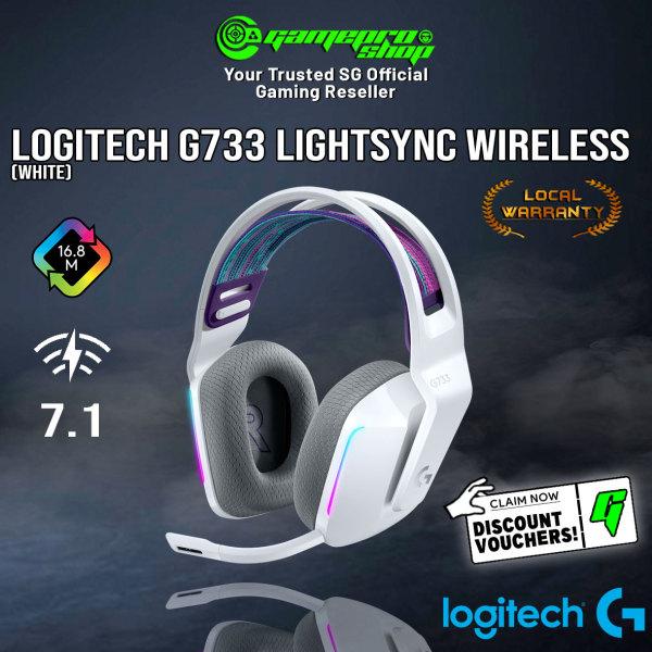 Logitech G733 Lightspeed RGB Wireless Gaming Headset (2Y)