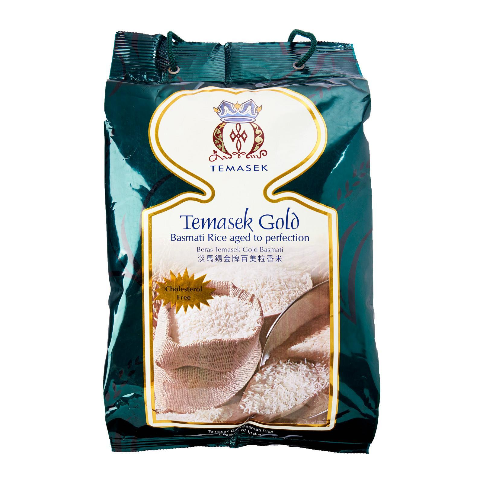 Temasek Gold Basmati Rice 5kg - By Dashmesh By Redmart.