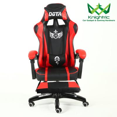 Knighric Gaming Chair Office Racing Chair - M Series Racing Style (Free Installation) With Leg Rest