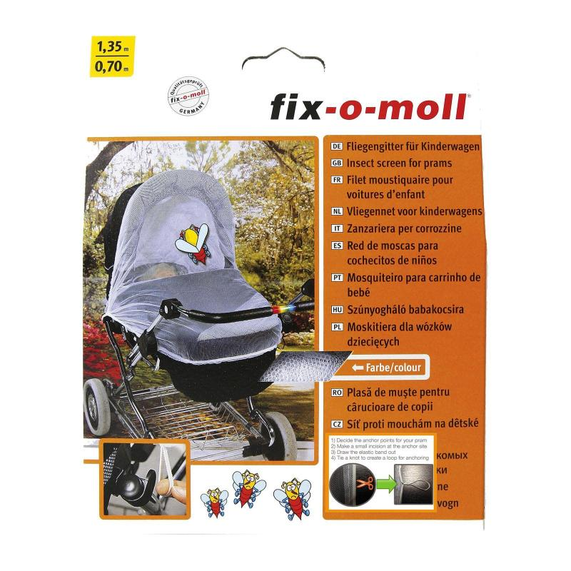 Fix-o-moll Mosquito And Insect Screen for Prams - Baby Health Singapore