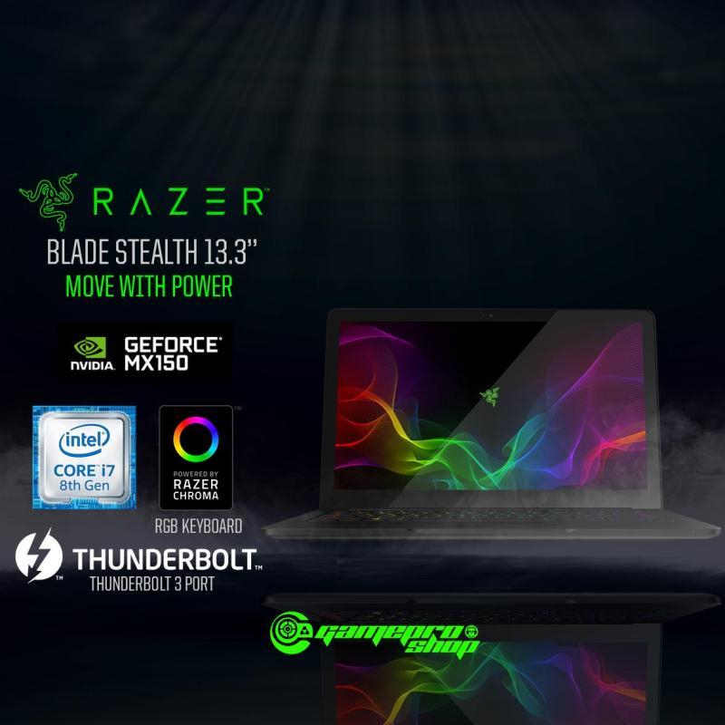 Razer Blade Stealth 13 (i7-8565U / MX150 4GB / 16GB / 256GB SSD / W10) 13.3 FHD Matte Gaming Laptop *GSS PROMO*