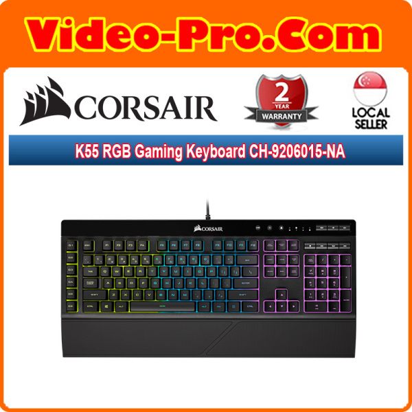 Corsair K55 RGB Gaming Keyboard CH-9206015-NA Singapore