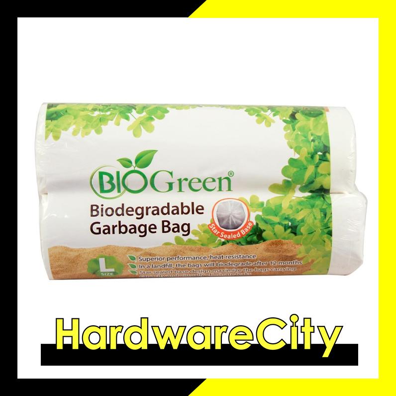 Biogreen Biodegradable Garbage Bag (large)  [w76cm X L100cm].
