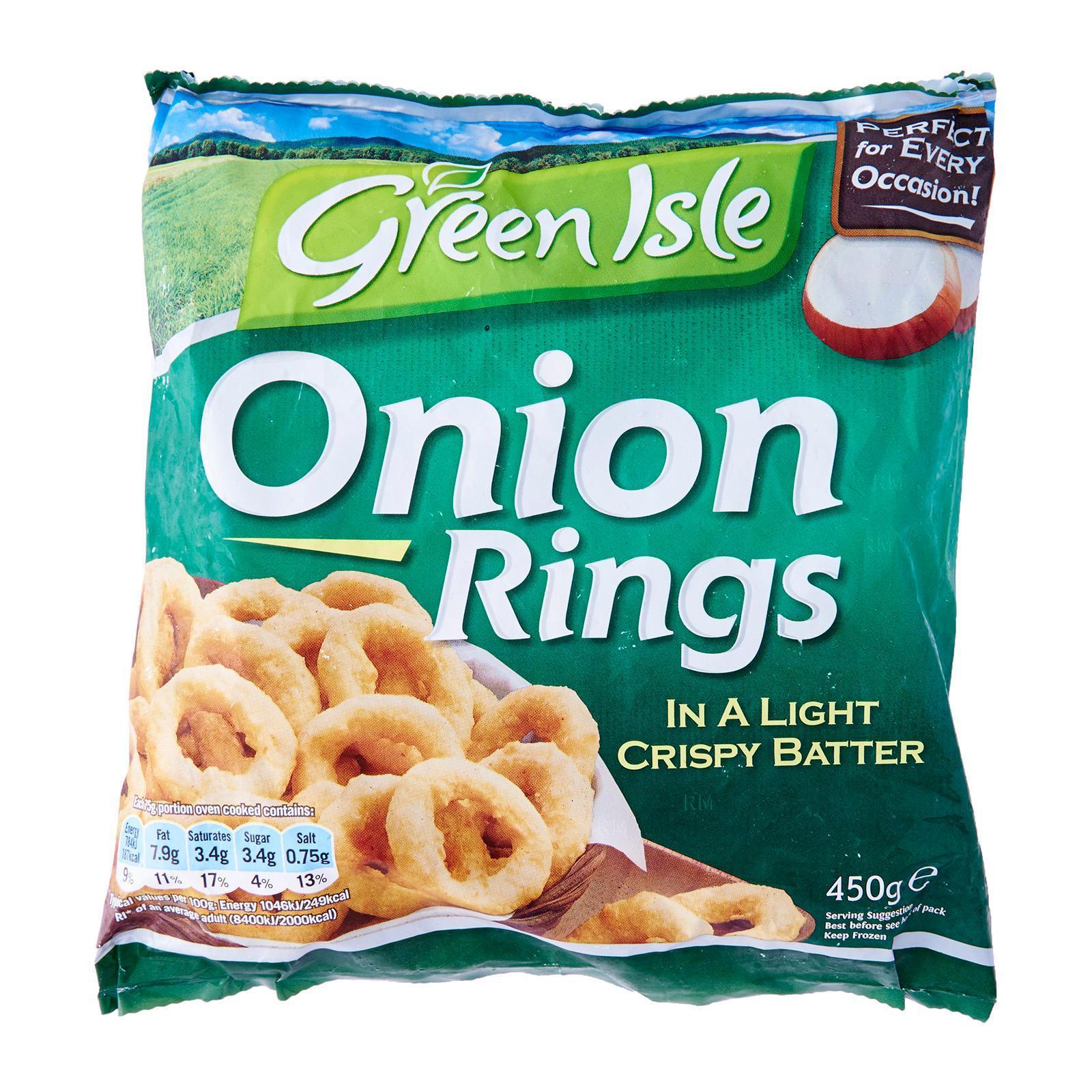 Green Isle Battered Onion Rings - Frozen By Redmart.