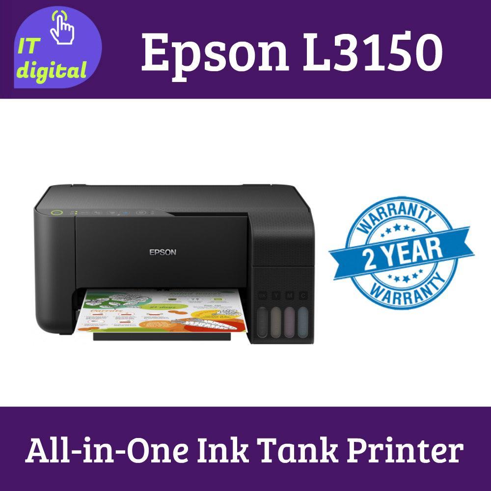 Epson Printer EcoTank L3150 Wi-Fi All-in-One Ink Tank Printer Singapore