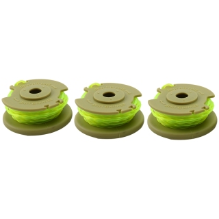 For Ryobi One PLUS AC80RL3 OEM .080 Inch Twisted Line and Spool Replacement for 18v, 24v, and 40v Cordless Trimmers (3 Pack) thumbnail