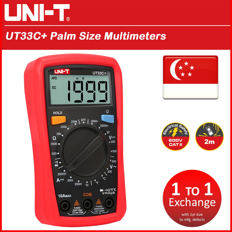 Ut33c+ Palm Size Multimeter By 2m-Xiamen.