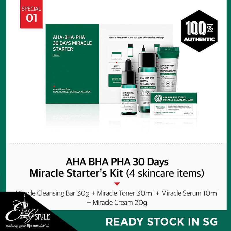 Buy SOMEBYMI AHA-BHA-PHA 30days Miracle Starter Kit Singapore