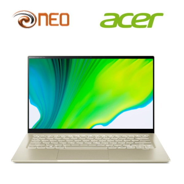 Acer Swift 5 SF514-55T-70LF (Gold) laptop with LATEST 11th Gen Intel i7-1165G7 processor