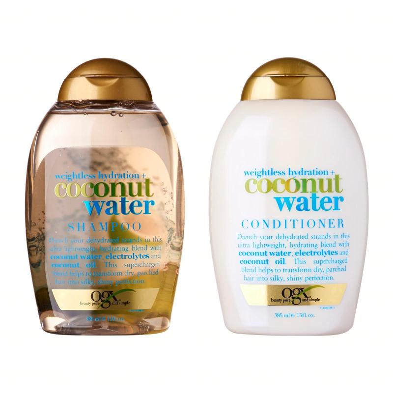 Buy OGX Weightless Hydration + Coconut Water Shampoo And Conditioner Set Singapore