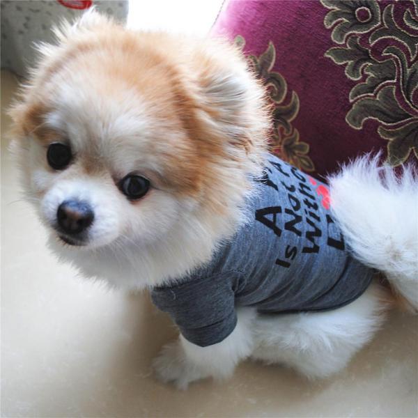 Miễn Phí Vận Chuyển Tốt Nhất Dog Lover Quà Tặng Cotton Mùa Hè Áo Sơ Mi Nhỏ Dog Cat Pet Quần Áo Vest T Áo Sơ Mi