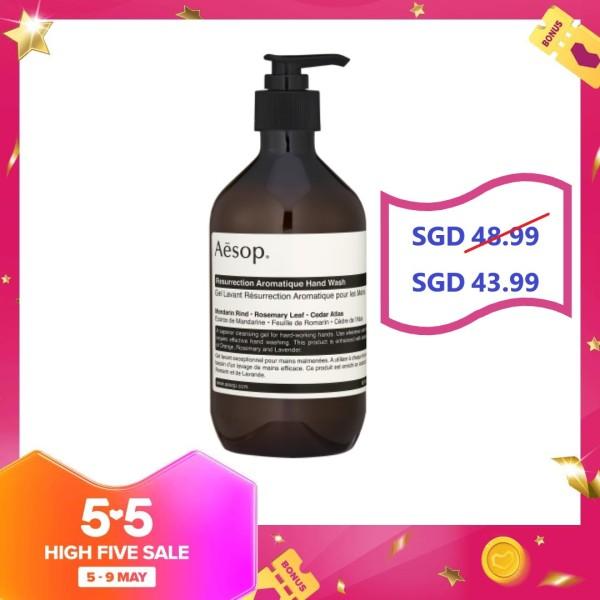 Buy Aesop Resurrection Aromatique Hand Wash 16.9oz, 500ml - intl Singapore