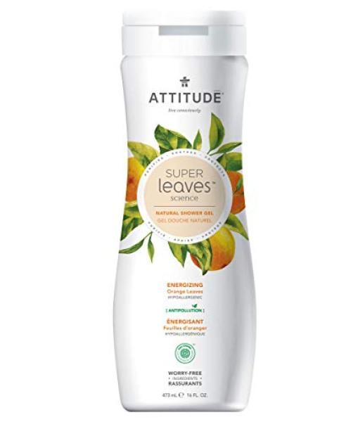 Buy (USA)ATTITUDE Super Leaves, Hypoallergenic Energizing Body Wash, Orange Leaves, 16 Fluid Ounce Singapore