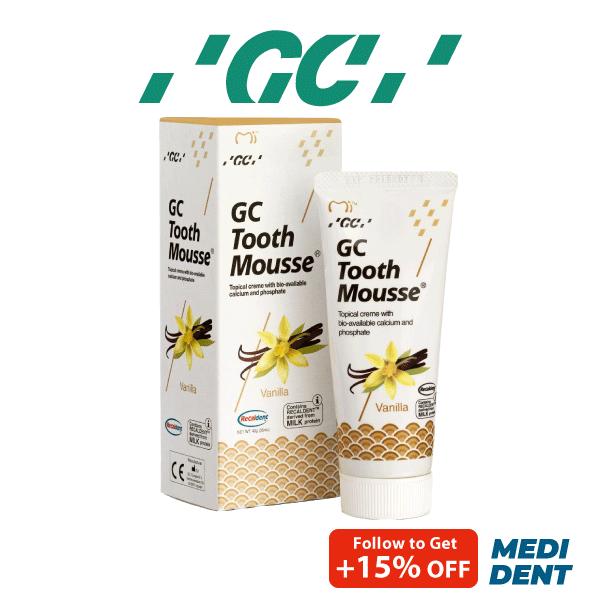 Buy GC TOOTH MOUSSE SUGAR FREE TOPICAL CREME VANILLA 40G Singapore