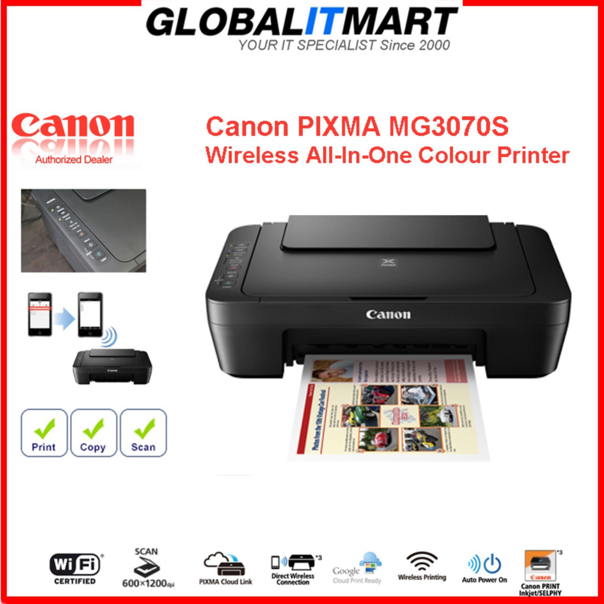 Canon PIXMA MG3070S *Free PG-745S Black Ink Worth $15 15 Till 25th Aug  2019* MG 3070S, 3070