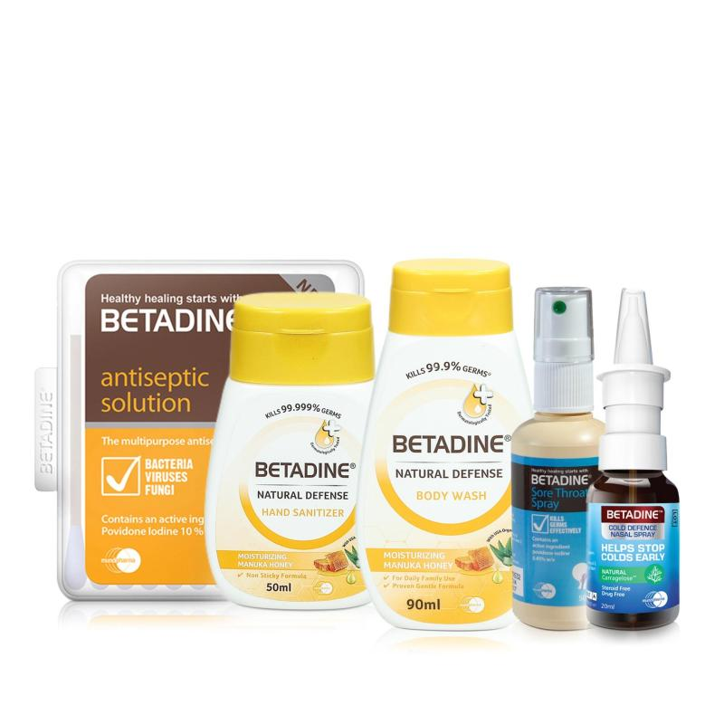 Buy Betadine Travel Kit (Manuka Honey Variant) Singapore