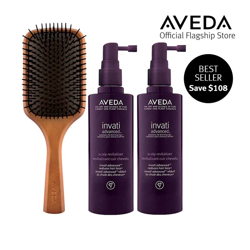 Buy [Exclusive Offer] AVEDA Invati Advanced Scalp Revitalizer Duo + Paddle Brush Singapore