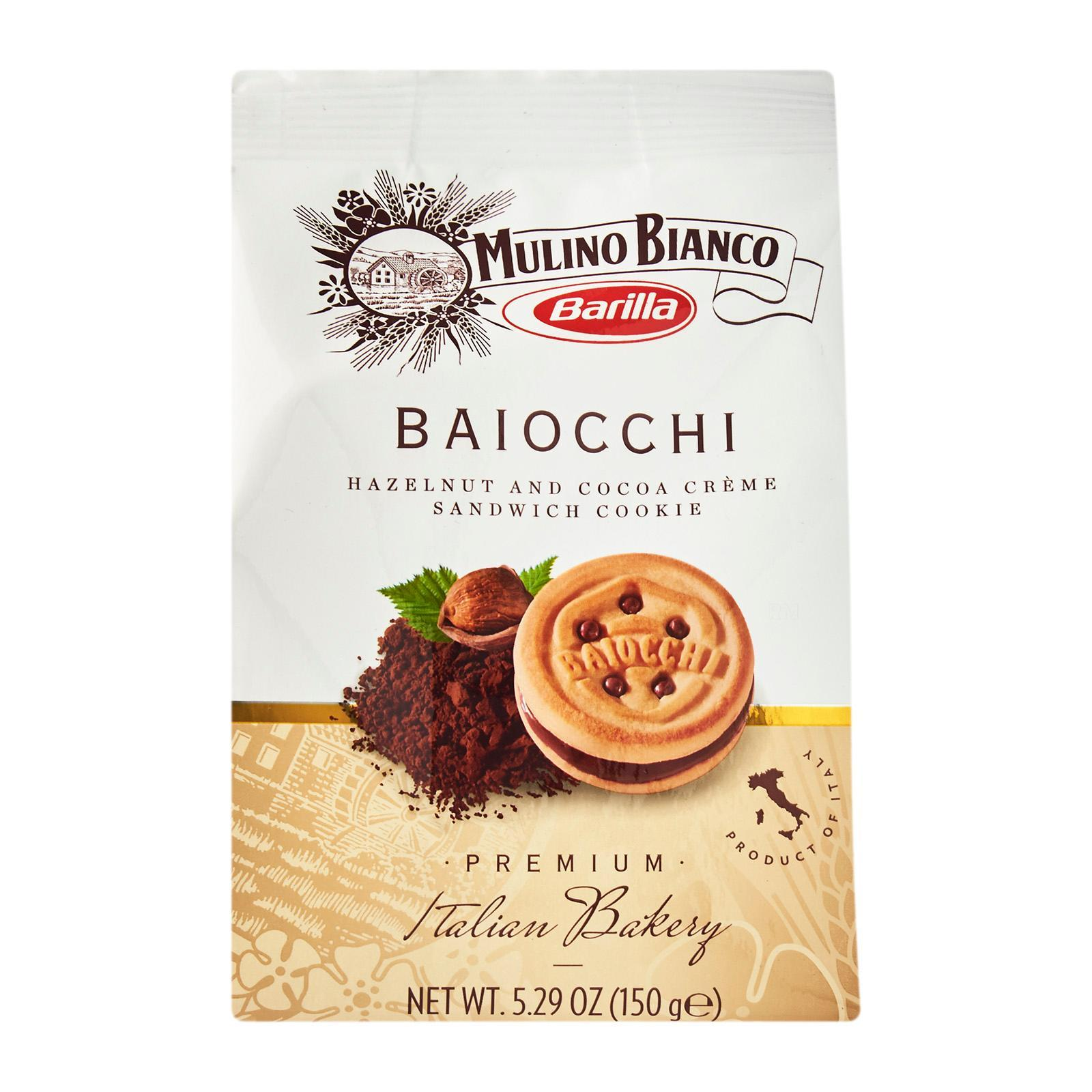 Mulino Bianco Baiocchi - Hazelnut And Coco Cookie Cookies