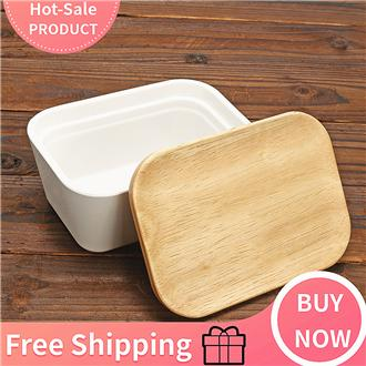 15.3*10.2*8.5/13.8*10*6.8cm Butter Dish With Lid-Butter Me Up [13.8*10*6.8cm] By Freebang.