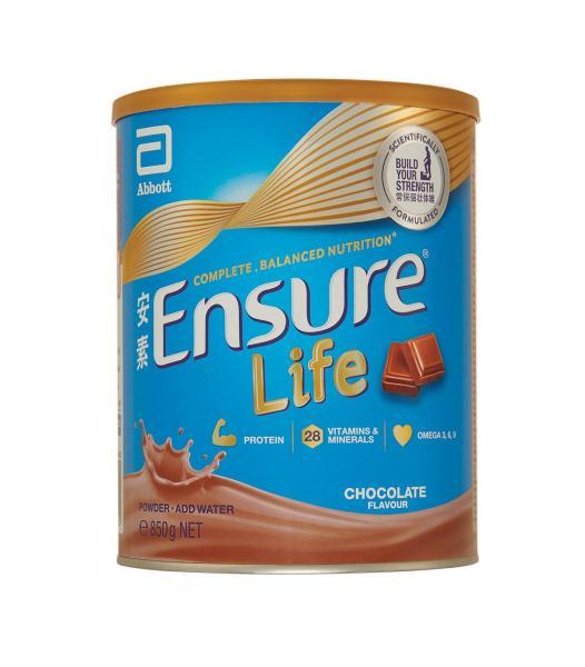 Buy Ensure Life 850g (Chocolate Flavor) Singapore