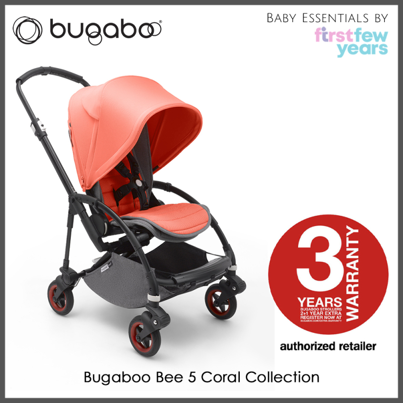 Bugaboo Bee 5 Coral Collection [Limited Edition] Singapore