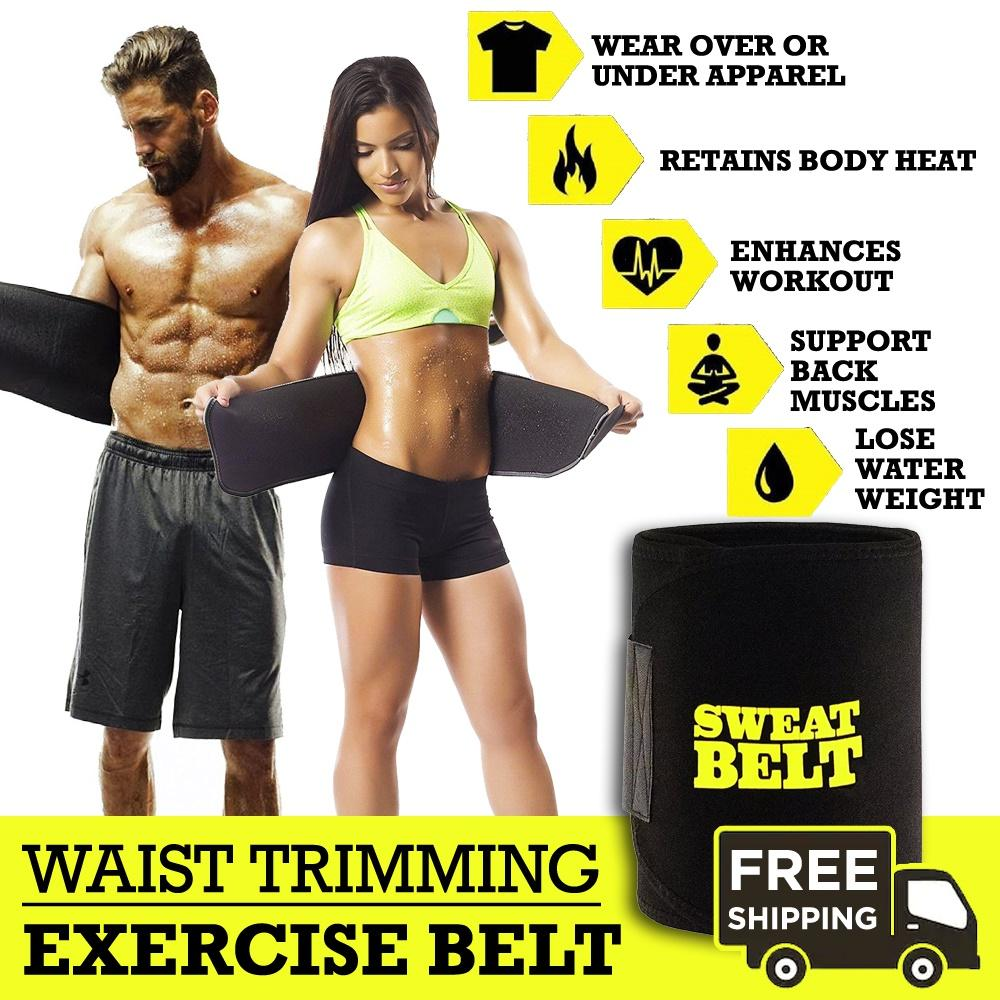 483c85326 Sweat Waist Trimmer Belt   Slim Slimming Lift Body Corset Shirt Sports  Sauna Tummy For Men
